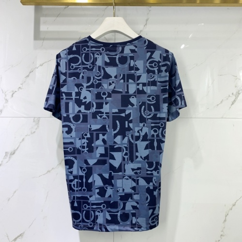 Replica Hermes T-Shirts Short Sleeved For Men #834831 $40.00 USD for Wholesale