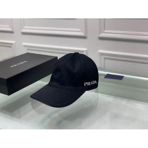 Prada Caps #834865 $36.00 USD, Wholesale Replica Prada Caps