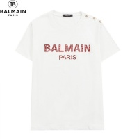 $32.00 USD Balmain T-Shirts Short Sleeved O-Neck For Men #828460