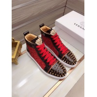 $82.00 USD Versace High Tops Shoes For Men #829124