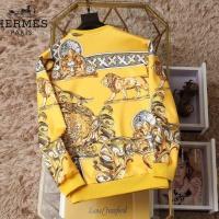 $38.00 USD Hermes Hoodies Long Sleeved O-Neck For Men #830066