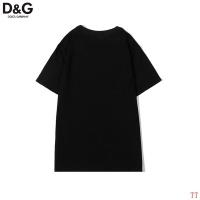 $27.00 USD Dolce & Gabbana D&G T-Shirts Short Sleeved O-Neck For Men #831001