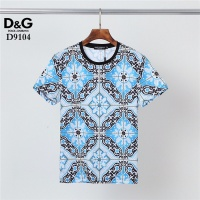 $30.00 USD Dolce & Gabbana D&G T-Shirts Short Sleeved O-Neck For Men #831298