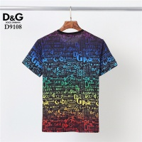 $30.00 USD Dolce & Gabbana D&G T-Shirts Short Sleeved O-Neck For Men #831301