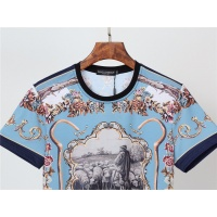 $30.00 USD Dolce & Gabbana D&G T-Shirts Short Sleeved O-Neck For Men #831302