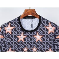 $30.00 USD Dolce & Gabbana D&G T-Shirts Short Sleeved O-Neck For Men #831308