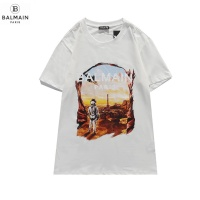 $29.00 USD Balmain T-Shirts Short Sleeved O-Neck For Men #831616