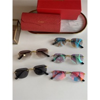 $45.00 USD Cartier AAA Quality Sunglasses #833634