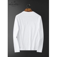 $34.00 USD Hermes T-Shirts Long Sleeved For Men #834686