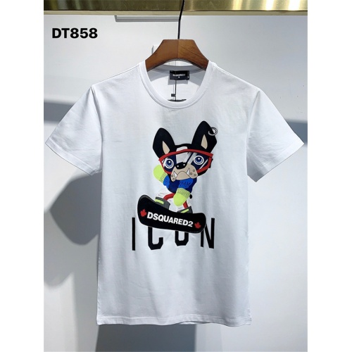 Dsquared T-Shirts Short Sleeved For Men #834869