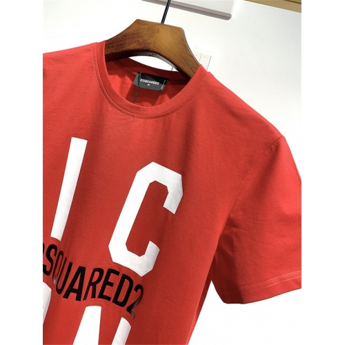 Replica Dsquared T-Shirts Short Sleeved For Men #834883 $26.00 USD for Wholesale