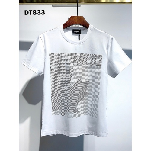 Dsquared T-Shirts Short Sleeved For Men #834894