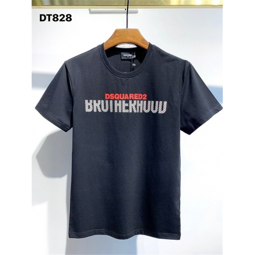Dsquared T-Shirts Short Sleeved For Men #834898 $26.00 USD, Wholesale Replica Dsquared T-Shirts