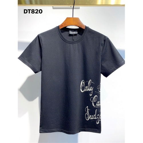 Dsquared T-Shirts Short Sleeved For Men #834904 $26.00 USD, Wholesale Replica Dsquared T-Shirts