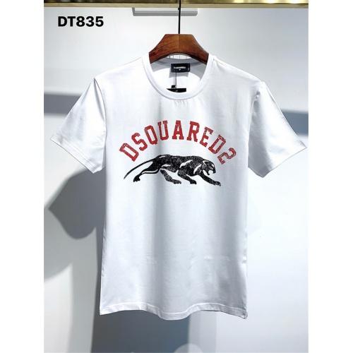 Dsquared T-Shirts Short Sleeved For Men #834911