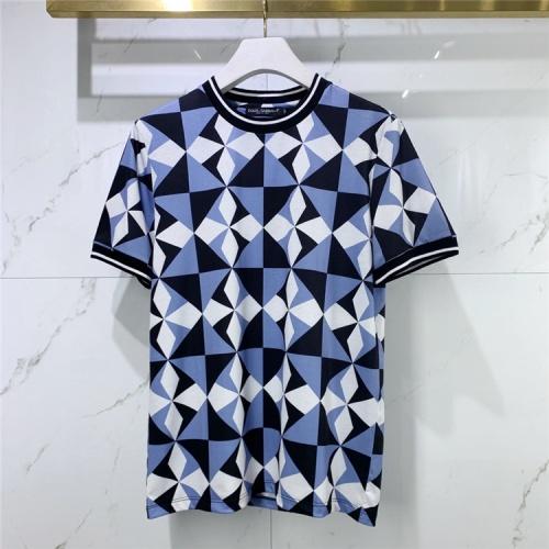 Dolce & Gabbana D&G T-Shirts Short Sleeved For Men #834922 $41.00, Wholesale Replica Dolce & Gabbana D&G T-Shirts