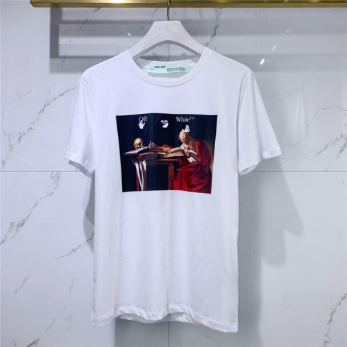 Off-White T-Shirts Short Sleeved For Men #834927 $41.00, Wholesale Replica Off-White T-Shirts