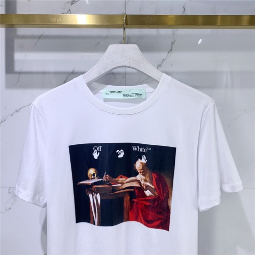 Replica Off-White T-Shirts Short Sleeved For Men #834927 $41.00 USD for Wholesale