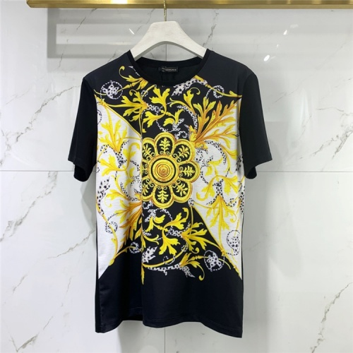 Versace T-Shirts Short Sleeved For Men #834932