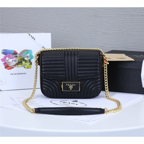 Prada AAA Quality Messeger Bags For Women #834953 $93.00, Wholesale Replica Prada AAA Quality Messeger Bags