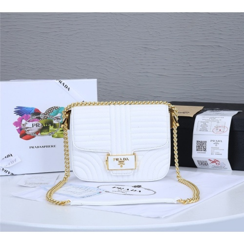 Prada AAA Quality Messeger Bags For Women #834954 $93.00, Wholesale Replica Prada AAA Quality Messeger Bags
