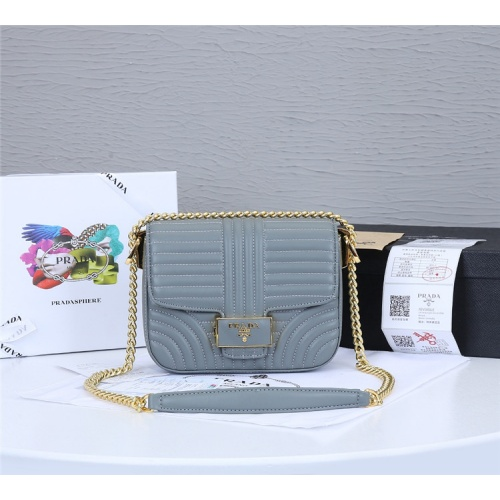 Prada AAA Quality Messeger Bags For Women #834955 $93.00, Wholesale Replica Prada AAA Quality Messeger Bags