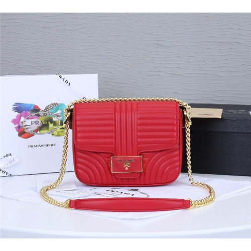 Prada AAA Quality Messeger Bags For Women #834956 $93.00, Wholesale Replica Prada AAA Quality Messeger Bags