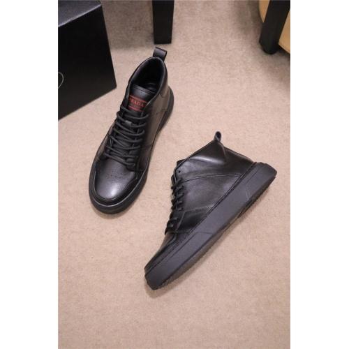 Prada High Tops Shoes For Men #835003