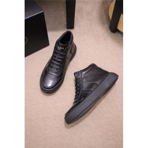 Prada High Tops Shoes For Men #835004