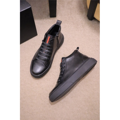 Prada High Tops Shoes For Men #835005