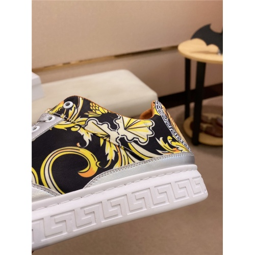 Replica Versace Casual Shoes For Men #835006 $76.00 USD for Wholesale