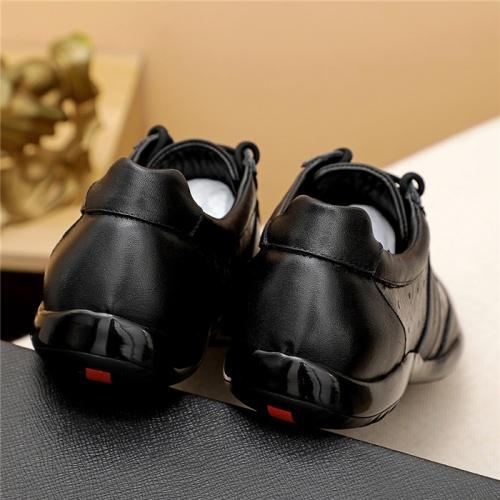 Replica Prada Casual Shoes For Men #835029 $82.00 USD for Wholesale