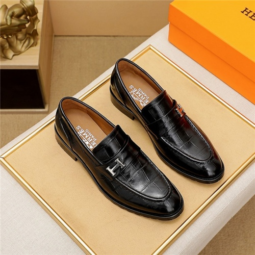 Hermes Leather Shoes For Men #835031
