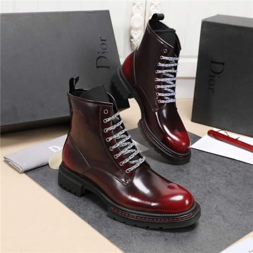 Christian Dior Boots For Men #835039