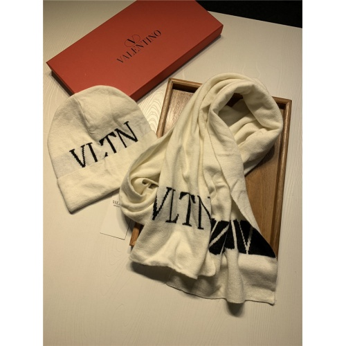 Replica Valentino Scarf & Hat Set For Women #835073 $44.00 USD for Wholesale