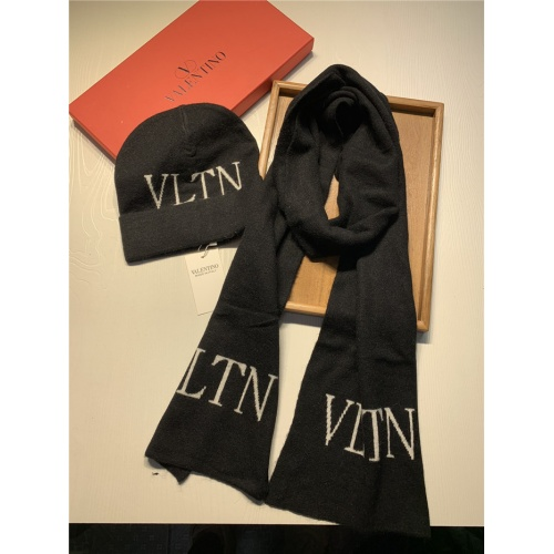 Valentino Scarf & Hat Set For Women #835074 $44.00 USD, Wholesale Replica Valentino Scarves