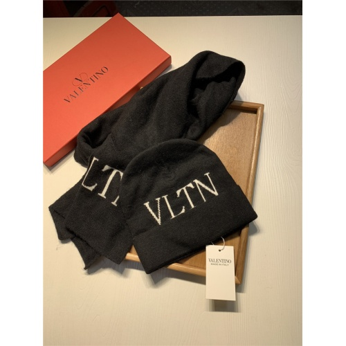 Replica Valentino Scarf & Hat Set For Women #835074 $44.00 USD for Wholesale