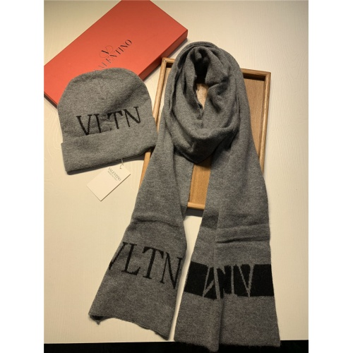 Valentino Scarf & Hat Set For Women #835075 $44.00 USD, Wholesale Replica Valentino Scarves