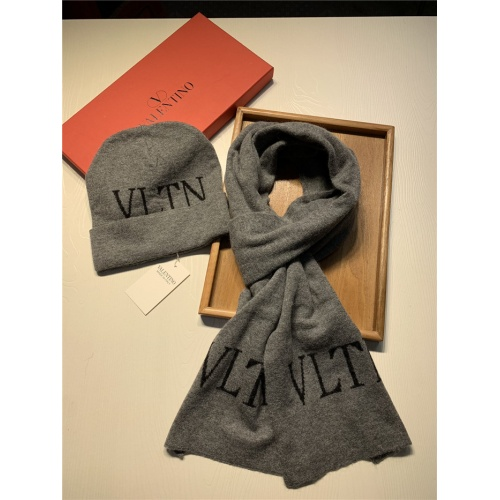 Replica Valentino Scarf & Hat Set For Women #835075 $44.00 USD for Wholesale