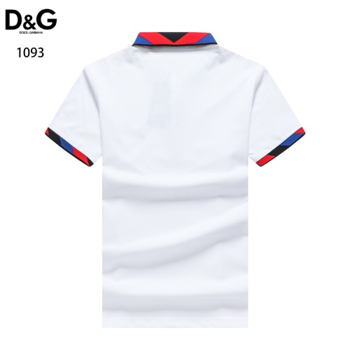 Replica Dolce & Gabbana D&G T-Shirts Short Sleeved For Men #835097 $33.00 USD for Wholesale