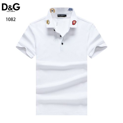 Dolce & Gabbana D&G T-Shirts Short Sleeved For Men #835101