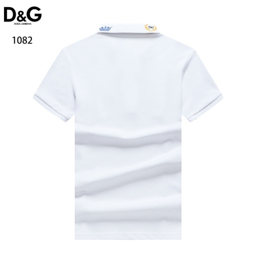 Replica Dolce & Gabbana D&G T-Shirts Short Sleeved For Men #835101 $33.00 USD for Wholesale