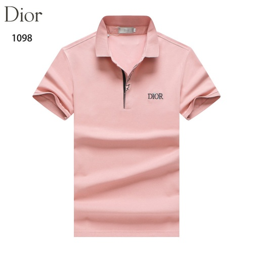 Christian Dior T-Shirts Short Sleeved For Men #835125