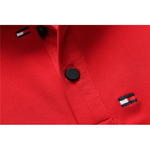 Replica Tommy Hilfiger TH T-Shirts Short Sleeved For Men #835138 $33.00 USD for Wholesale