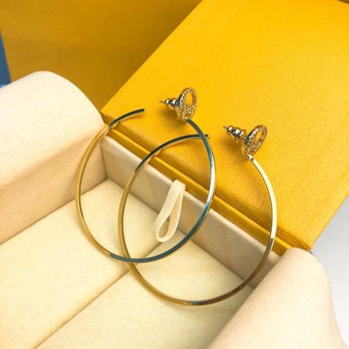 Fendi Earrings #835188 $39.00 USD, Wholesale Replica Fendi Earrings