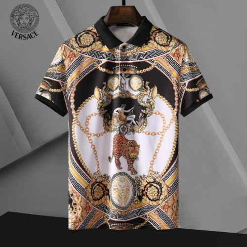 Versace T-Shirts Short Sleeved For Men #835291