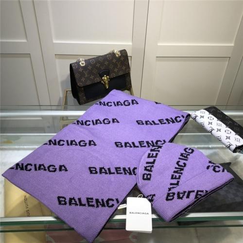 Balenciaga Scarf & Hat Set #835355