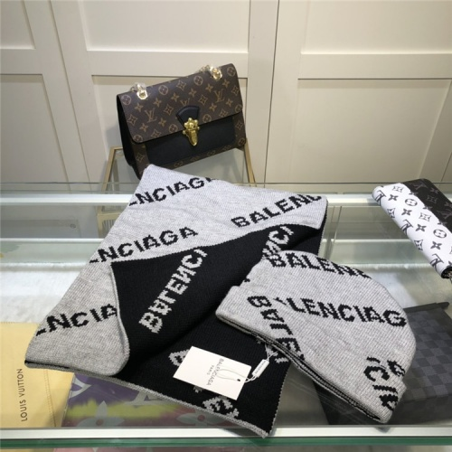 Balenciaga Scarf & Hat Set #835356 $56.00, Wholesale Replica Balenciaga Fashion Scarves
