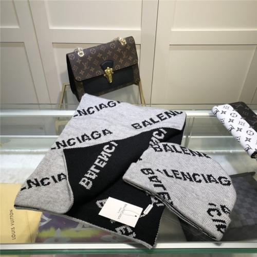 Balenciaga Scarf & Hat Set #835356