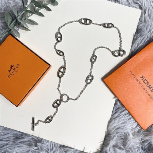 Replica Hermes Necklace For Women #835378 $38.00 USD for Wholesale